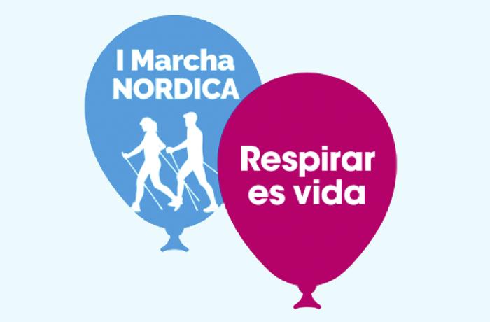 """Sevilla acoge la I Marcha Nórdica """"Respirar es Vida"""""""