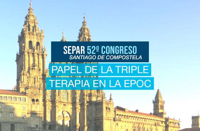 SEPAR. «Aire de debate. Papel de la triple terapia en la EPOC: de la evidencia a las recomendaciones para la práctica clínica»