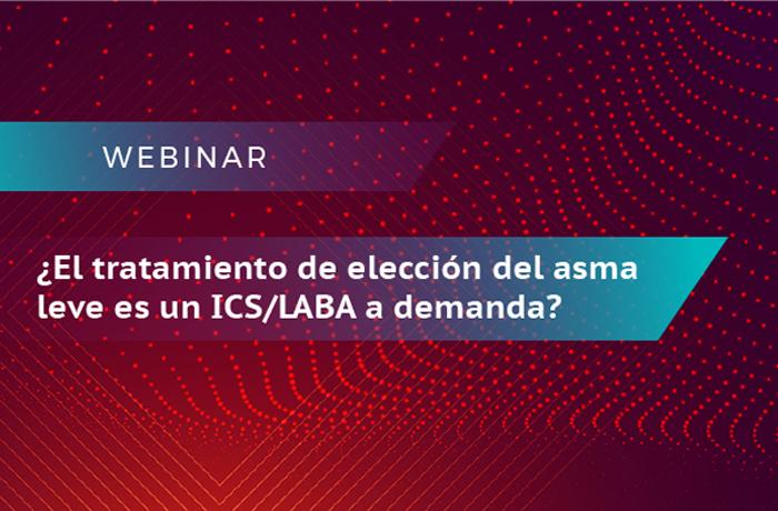 ¿El tratamiento de elección del Asma leve es un ICS/LABA a demanda?